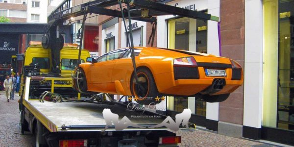 What to do when your car gets towed in Frankfurt